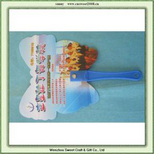 Promotion/Advertisement Plastic Hand Fan pictures & photos