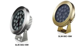 LED Underwater Light/LED Pool Fountain Light (SLW-56-18W) pictures & photos