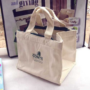 Cotton Picnic Cooler Bag