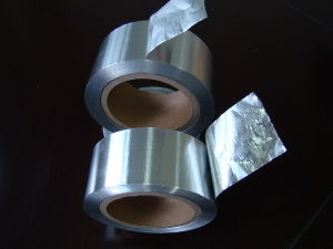 Self Wound Aluminum Foil Tape / Self Adhesive Insulation Tape pictures & photos