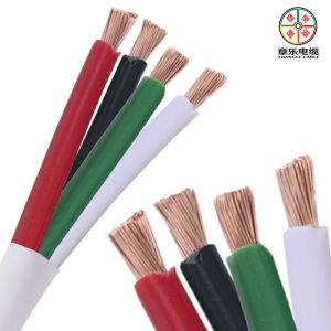 4 Condutor Flexible Cable, PVC Wire Cable 300/500V