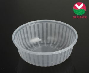 Disposable Takeaway Plastic Food Container (1.3 L) pictures & photos