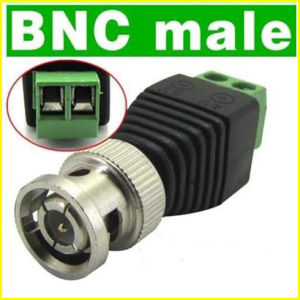 BNC Male Coax Connector for CCTV Camera (AF05) pictures & photos