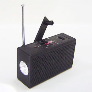 Dynamo FM Radio with TF Card MP3 Player