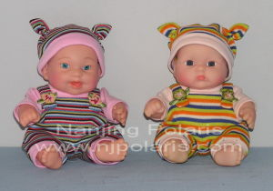 "8"" Full Vinyl Fat Baby Doll (C638A, B)"