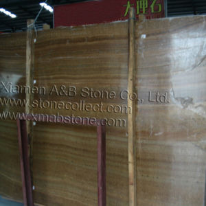 Royal Wooden Grain (Golden Wood Marble) pictures & photos