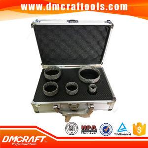5 PCS Brazed Diamond Hole Saw Diamond Core Drill Bit Set pictures & photos