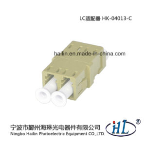 LC/mm Duplex Low Insertion Loss Fiber Optic Adapter pictures & photos