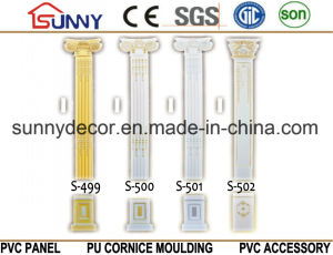 Interior Polyurethane PU Column/PU Roman Art Pillar Column pictures & photos