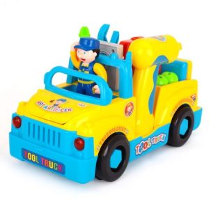 Kids Plastic Educational B/O Tool Car Baby Toy pictures & photos
