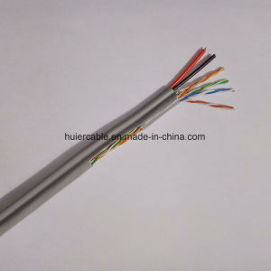 CCTV CAT6 Cable with Power Wires (2DC) for Security System pictures & photos