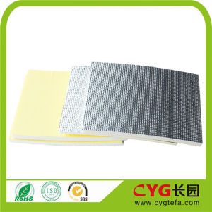 Low Density Cross Linked Polyethylene Foam with Alu Foil Backed pictures & photos
