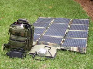 Outdoor Solar System 300W 600wh