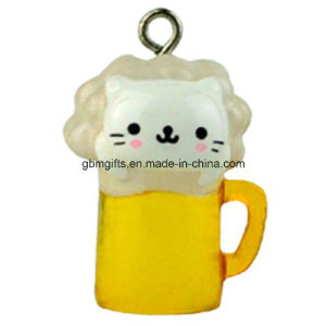 Promotional Animal Shaped Novelty Plastic Keychain for Gift pictures & photos