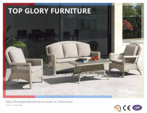Outdoor Rattan Sectional Sofa Set with Water Resistant Cushion (TG-071) pictures & photos