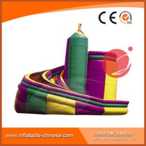 Amusement Park PVC Tarpaulin Rocket Curve Slide T4-440 pictures & photos