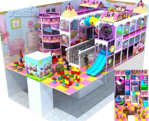 Shopping Center Kids Jungel Gyms Playland Children Commercial Indoor Playground pictures & photos