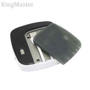 Kingmaster 5000mAh Portable Power Bank for Mobile Phone with Cable pictures & photos