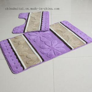 Polypropylene Fiber Washable Mat Bathroom 2 PCS Sets Mat Rugs Floor Mat