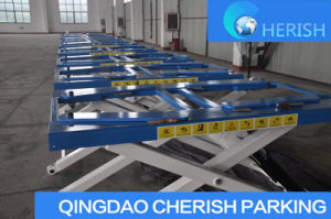 Portable Easy Operation MID Rise Car Scissor Lift pictures & photos