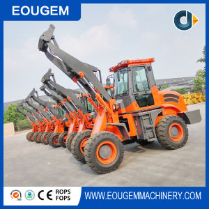 Eougem Wielladers 1.6ton Small Wheel Loader pictures & photos