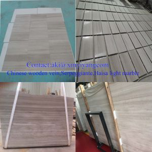 Chinese Wooden Vein, Serpeggiante, Haisa Light Marble pictures & photos