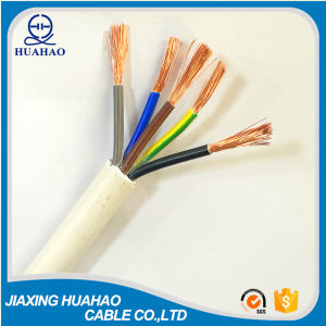 H05VV-F 3X1.5mm2 Copper Conductor Rvv Cable pictures & photos