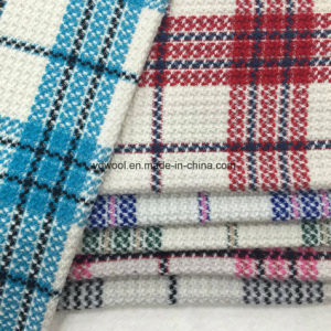 Light Colors Check Wool Fabric for Overcoat pictures & photos