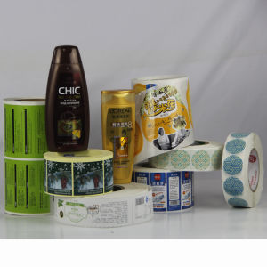 China High Quality Self-Adhesive Label Sticker for Shampoo Package pictures & photos