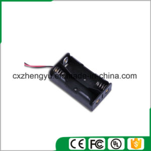 2AA Battery Holder with Red/Black Wire Leads pictures & photos