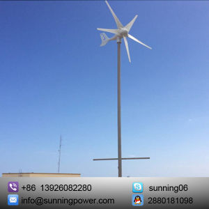 Sunning 300W 5 Blades Small-Scale Wind Turbines Generator pictures & photos