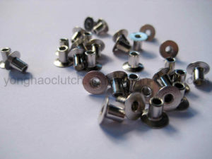 4X6mm Nickle Plated Fully Tubular Clutch Facing Rivets pictures & photos
