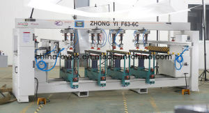 Low Price Woodworking Furniture Automatic Multi-Drill Spindle Machine (F63-6C)  pictures & photos