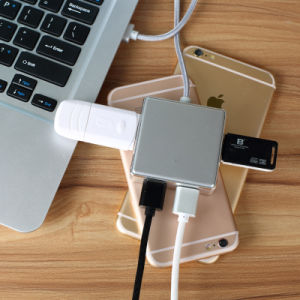 Multi-Functional Hub Multi Port USB 4 Port Splitter Charger pictures & photos
