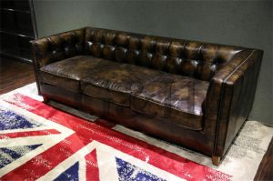 Industrial Furniture Latest New Leisure Leather Sofa Design pictures & photos