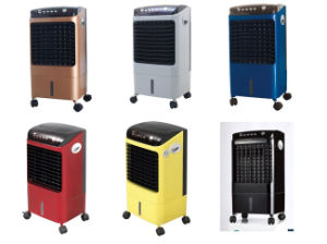 Floor Standing Plastic Body Big Water Tank Water Cooling Fan Air Cooler Lfs-702A pictures & photos