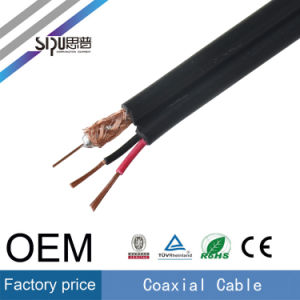 Sipu High Quality 0.81mm Bare Copper Rg59 with Power