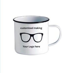 Wholesale Enamel Decorating Mug, High Quality Price for Enaml Coffee Cup pictures & photos