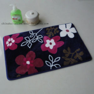 High Quality Flannel Printing Floor Mat pictures & photos