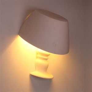 Sixu Plaster Wall Lamp Hr-1026 pictures & photos