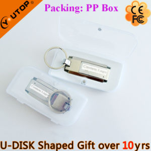 Hot Gift 360 Degree Rotating Metal USB Pendrive (YT-1209) pictures & photos