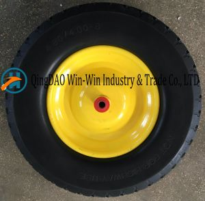Flat-Free PU Foam Wheel for Balanced Cart (4.80/4.00-8) pictures & photos