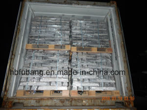 Magnesium Ingot (mg) High Pure Mg 99.90% Min to Mg 99.98% Max Magnesium Ingot pictures & photos