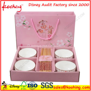Corrugated Custom Print Paper Promotional Packaging Box for Kitchenware Cups pictures & photos