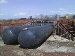 Inflatable Rubber Formwork for Convert Construction pictures & photos
