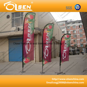 Outdoor Promotional Beach Flag for Advertising pictures & photos