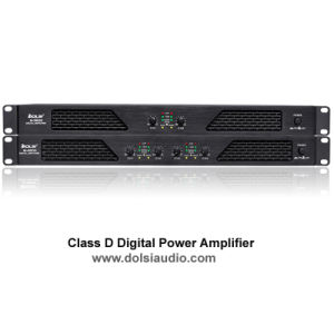 Hot-Selling 4 Channel Class D Digital Professional Power Amplifier (M) pictures & photos