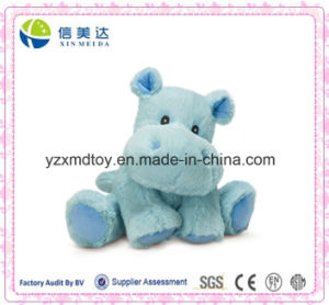 Small Blue Happy Hippo Toy for Baby pictures & photos