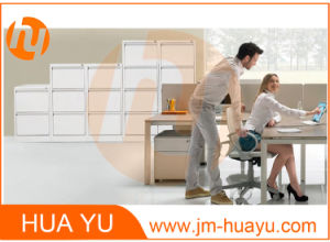 Steel Vertical Filing Cabinet for Office Use