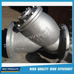 ANSI Wcb/Stainless Steel Flanged Y Strainer pictures & photos